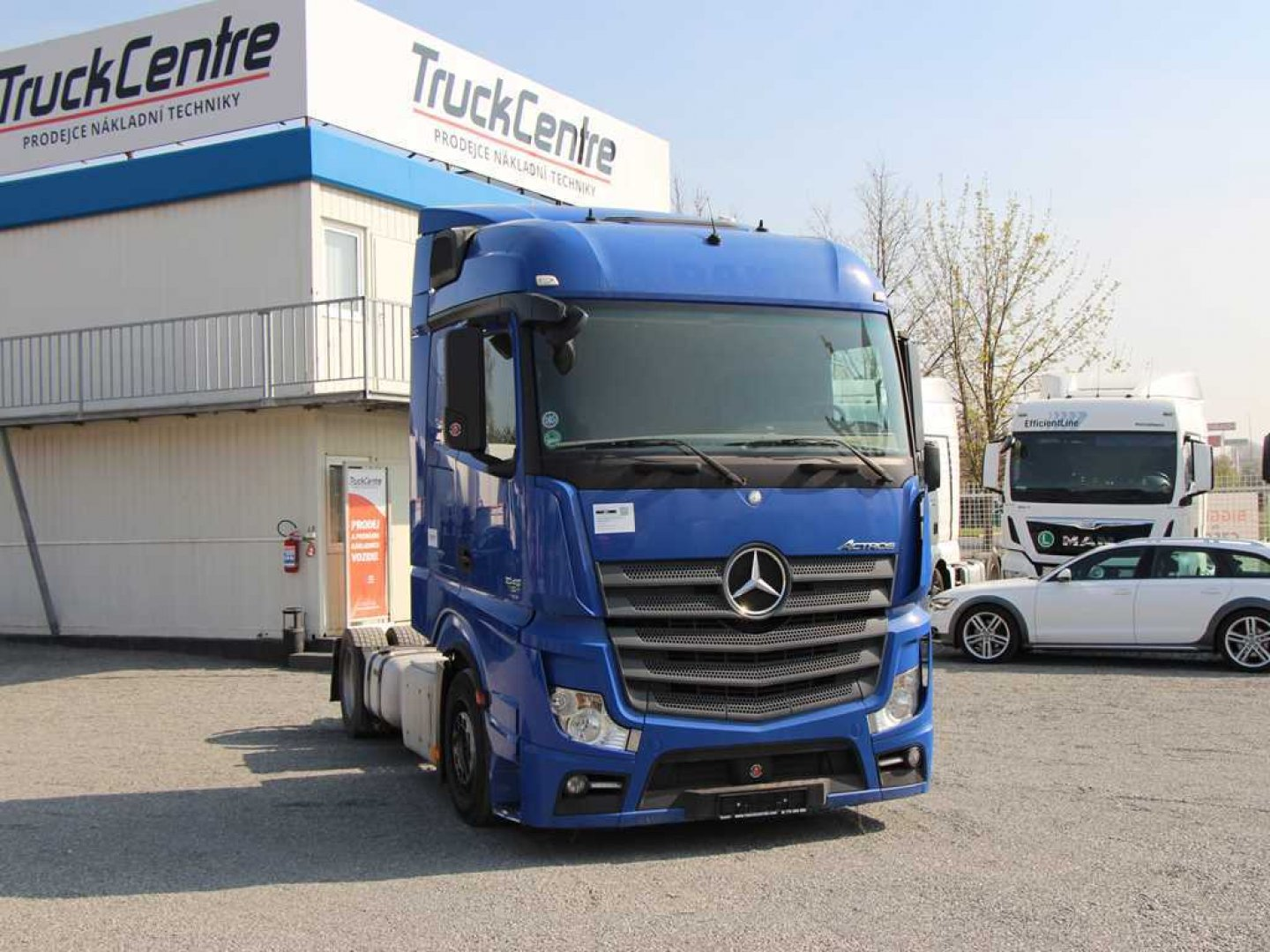 Mercedes-Benz ACTROS 1845 LSNRL LOWDECK,EURO 5