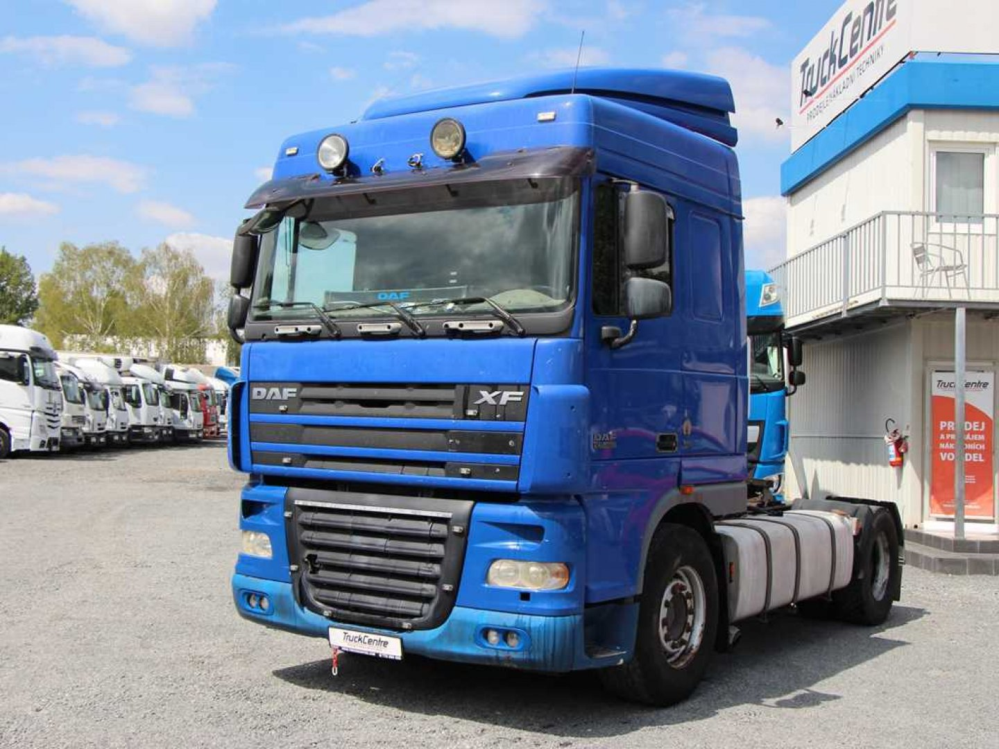 DAF XF 105.460 STANDARD, EURO 5, MANUAL